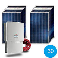 Сетевая станция 30 кВт под Зеленый тариф