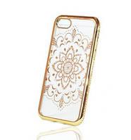 Накладка для iPhone 7 силикон Fantasy Infinity Flower