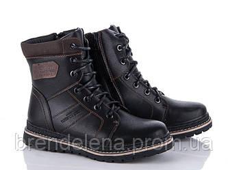 Стильні високі черевики зимові для підлітка р (36-41)