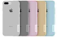 Накладка для iPhone 7 Plus силикон Nillkin Nature TPU Серый