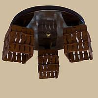 Люстра потолочная DF 5030/3 венге тёмный глянец