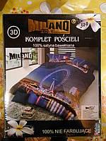 Комплект постельного белья 3D Milano Zone (двухспальная)