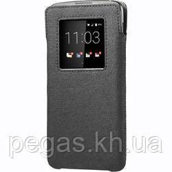 Чехол-карман BlackBerry DTEK60 кожаный черный