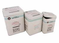 Коробки жестяные 5-32464 Home, sweet home набор