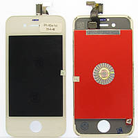 Дисплей LCD Apple iPhone 4S with touch and frame white AA