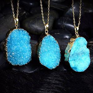 Кулоны с натуральными камнями