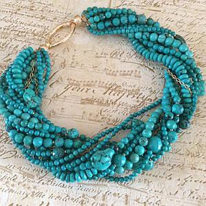 Ожерелья и браслеты из натуральных камней