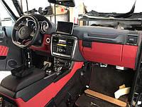 Руль Brabus AMG G55 G63 G65 G500 Mercedes w463 Carbon Black Edition