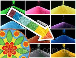 Кольоровий пісок Синій 400г 9140023-1