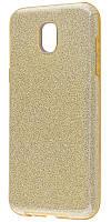 Панель Epik Shining Glitter Case для Samsung Galaxy J5 2017 (J530F) Gold