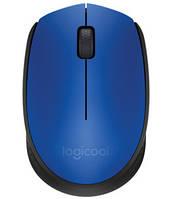 Мышка беспроводная Logitech M171 Wireless Blue (910-004640)