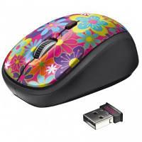 Мышка беспроводная Trust Yvi Wireless Mouse Flower power (20250)