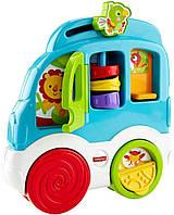 Детская развивающая игрушка познавательный автомобиль Fisher-Price