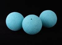 Хлопковый шарик 6,5см 251-767-1 голубой