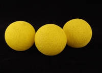 Хлопковый шарик 6,5см 251-767-25 желтый