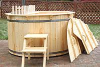Купель для сауны и бани из ясеня