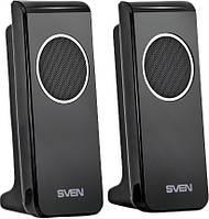 Акустические колонки 2.0 Sven 314 Black (314 (4 Вт), USB, black (SVEN))
