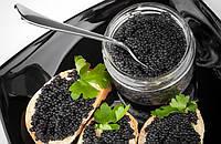 Черная осетровая икра - 0,250 грамм