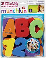 Игровой набор цифр и букв 36 шт для ванной Munchkin