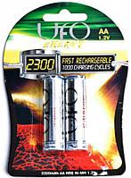 Аккумулятор AA 2300mAh UFO HR6 Ni-MH блистер (2шт) (MR2300 AA)