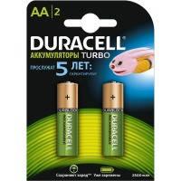 Аккумулятор AA 2500mAh Duracell HR6 блистер (2шт) (81546830)