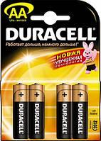 Батарейка AA Duracell LR06 MN1500 блистер (4шт) (5000734)