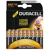 Батарейка AAA Duracell LR03 MN2400 блистер (18шт) (81546741)