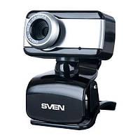 Веб-камера 0.3 Мп с микрофоном Sven IC-320 Black (IC-320 Web)