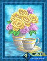Схема для вышивки бисером - Букет из роз и сирени, Арт. НБч4-115-2