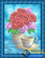 Схема для вышивки бисером - Букет из роз и сирени, Арт. НБч4-115-1
