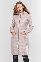 Демисезонная женская куртка Prunel 445 пудра, фото 1