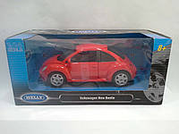 Модель WELLY 1:24 Volkswagen New Beetle (welly10)