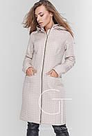 Куртка  женская демисезонная Prunel 445 жемчуг