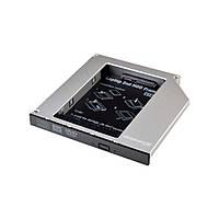 Адаптер для подключения HDD 2.5 '' в отсек привода ноутбука SATA / mSATA Slim 9.5 мм (HDC-24) Grand -