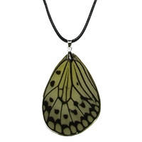 Украшения из крыльев бабочек