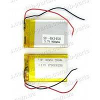 Аккумулятор для планшета 50*34*4.8 мм. Li-Pol 3.7V 900mAh (copy)