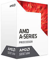 AMD (AM4) A6-9500, Box, 2x3,5 GHz (Turbo Boost 3,8 GHz), Radeon R5 (1029 MHz), L2 1Mb, Bri