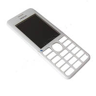 Передняя панель Nokia 206 White оригинальная