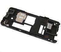Средняя часть Nokia 301 Black оригинальная