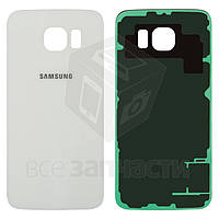 Задняя крышка Samsung G920 White (high copy)