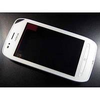 Сенсор Nokia 710 с рамкой White (copy)
