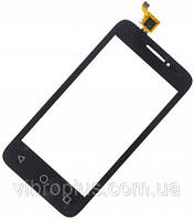 Сенсор Alcatel One Touch 4013D Black (high copy)