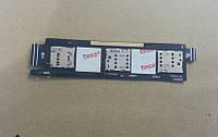 Шлейф ZenFone 6 с сим слотами и слотом SD Card (high copy)