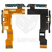 Шлейф Sony LT26i с боковыми кнопками и компонентами (high copy)