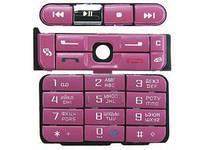 Клавиатура Nokia 3250 Pink (copy)