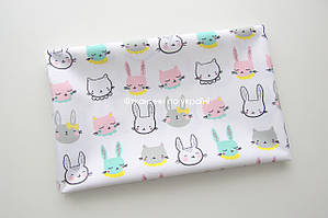 Ткань водоотталкивающая Кролики