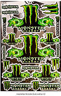 Наклейка Monster Eyes A4