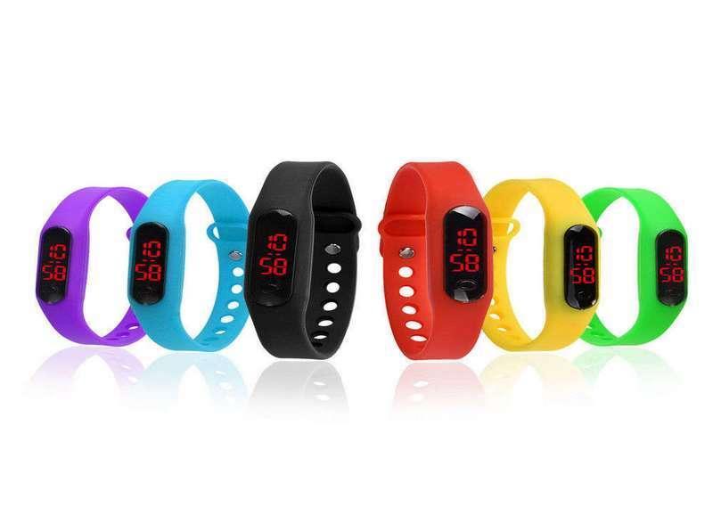 LED часы WANITA спорт Red (2000000733753) - Zoom market в Киеве