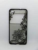 Накладка для Huawei Y3 2017 Rock Tatoo Art Case Color Flowers