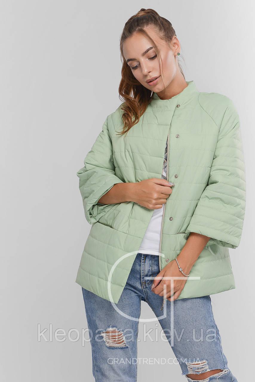 Куртка демисезонная женская Prunel 449 Ася яблоко